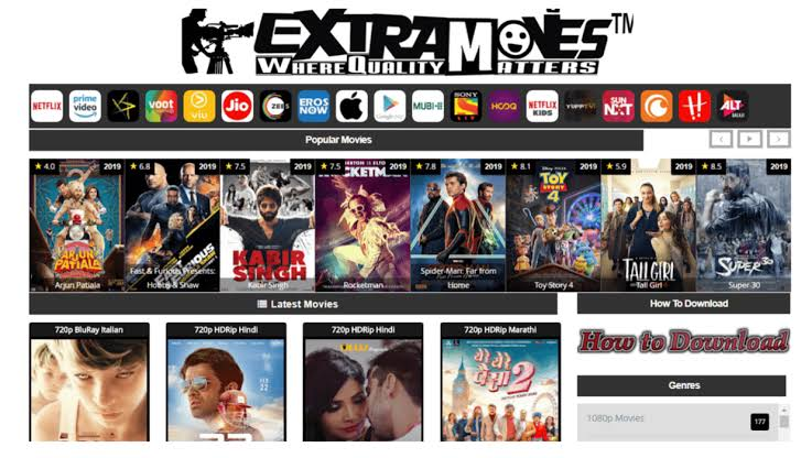 ExtraMovies – Download Hollywood Bollywood Movies & Web Series